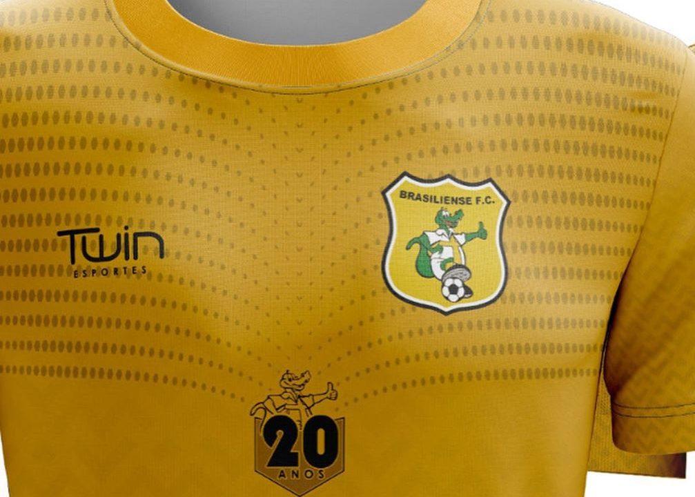 Camisa 20 anos do Brasiliense