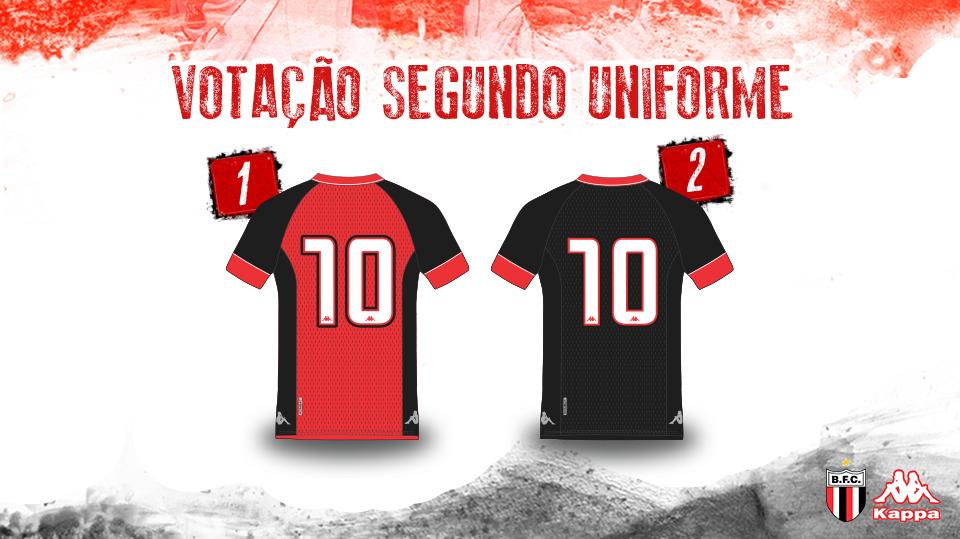 Botafogo-SP Camisa Costas Votação abre