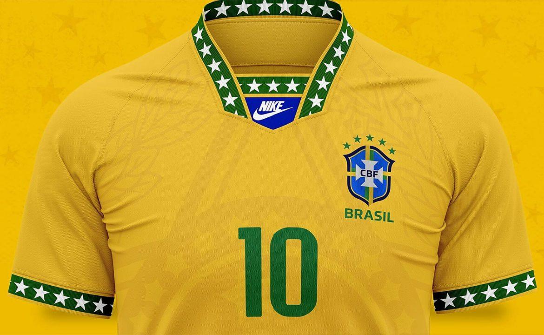 Camisa da Seleção Brasileira 1994-2020 Nike (Kauai Designer) 3