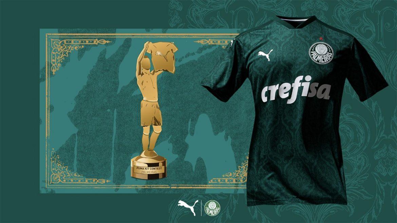Camisa do Palmeiras é eleita a mais bonita em ação da PUMA