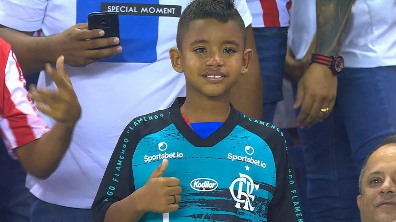 Camisa pré-jogo do Flamengo 2020 Adidas