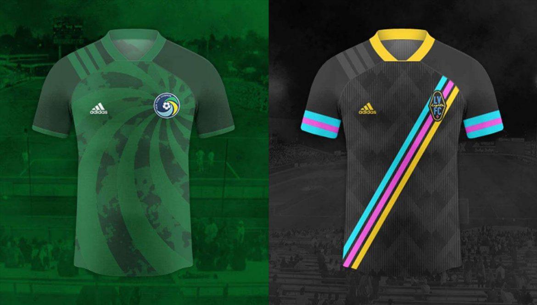 Camisas What if de times da USL e NASL 2020-2021 Adidas (Denilson Andrew)