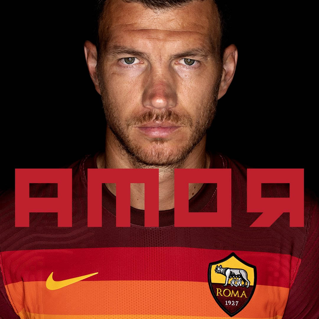 Camisas da AS Roma 2020-2021 Nike