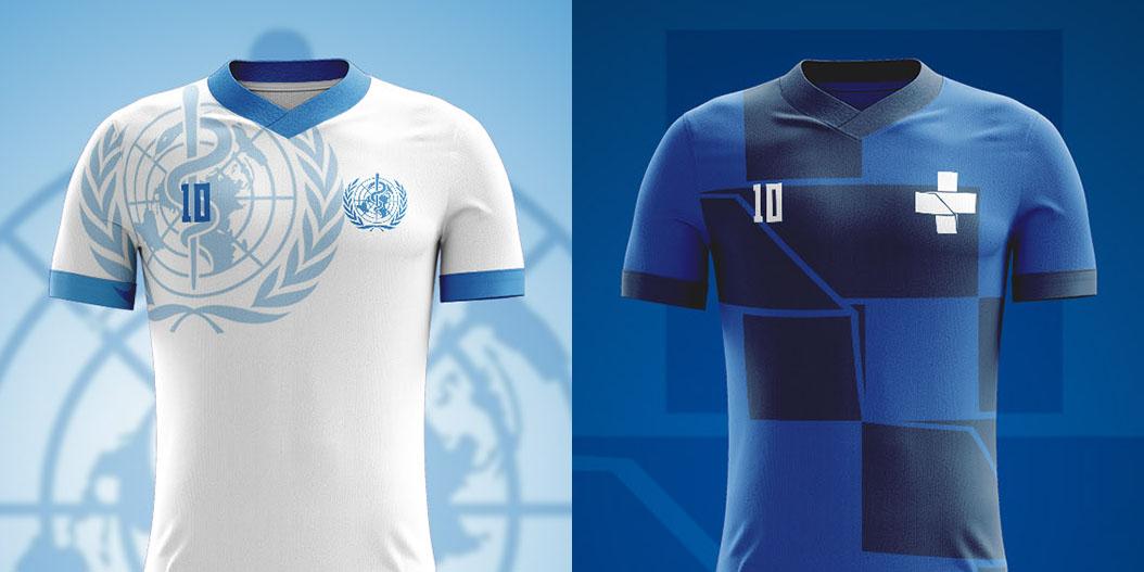 Camisas da Linha de Frente contra o Covid-19 Paulo Sampaio