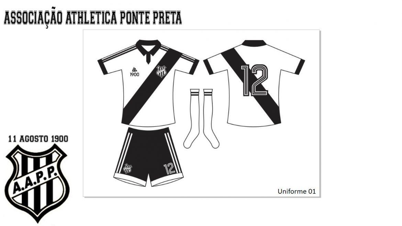 Camisas da Ponte Preta 2020-2021 1900 (Flávio Rogério) (3)