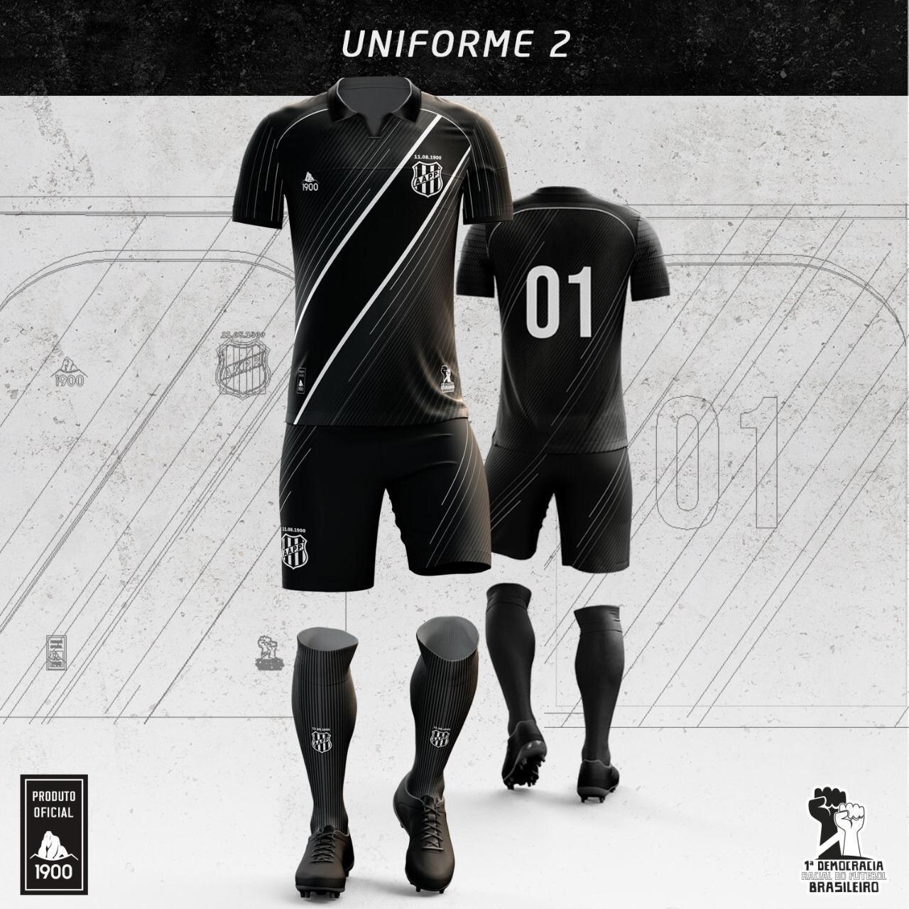 Camisas da Ponte Preta 2020-2021 1900 Reserva