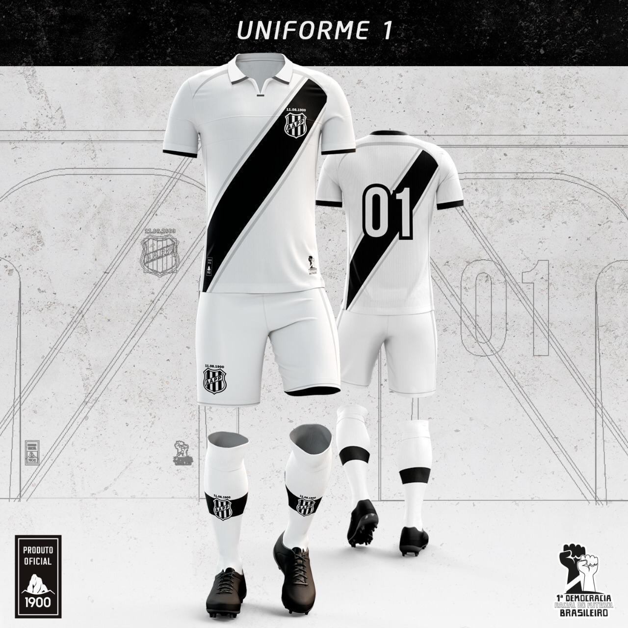 Camisas da Ponte Preta 2020-2021 1900 Titular