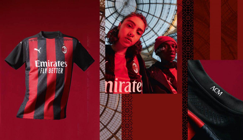 Camisas do AC Milan 2020-2021 PUMA a