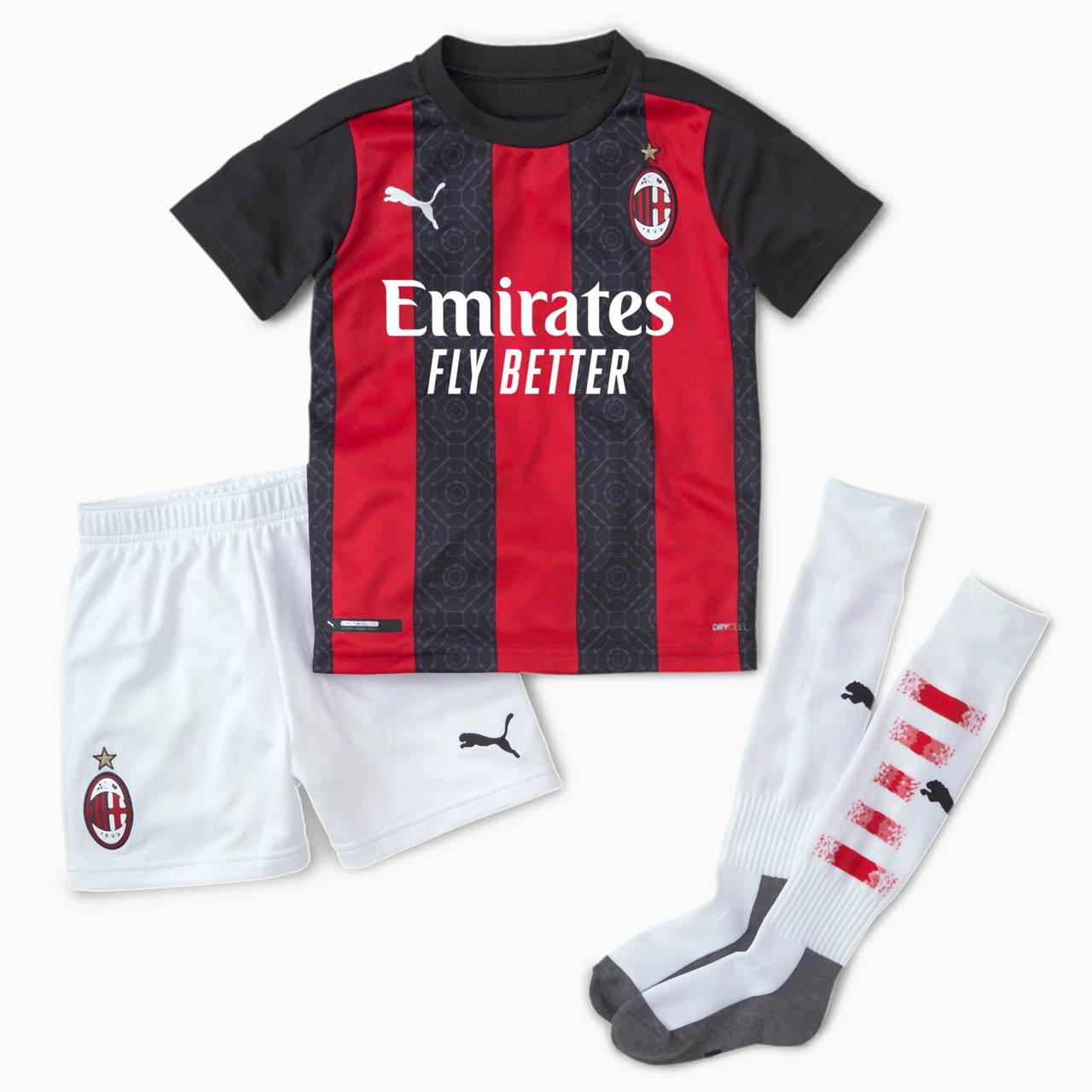 Camisas do AC Milan 2020-2021 PUMA