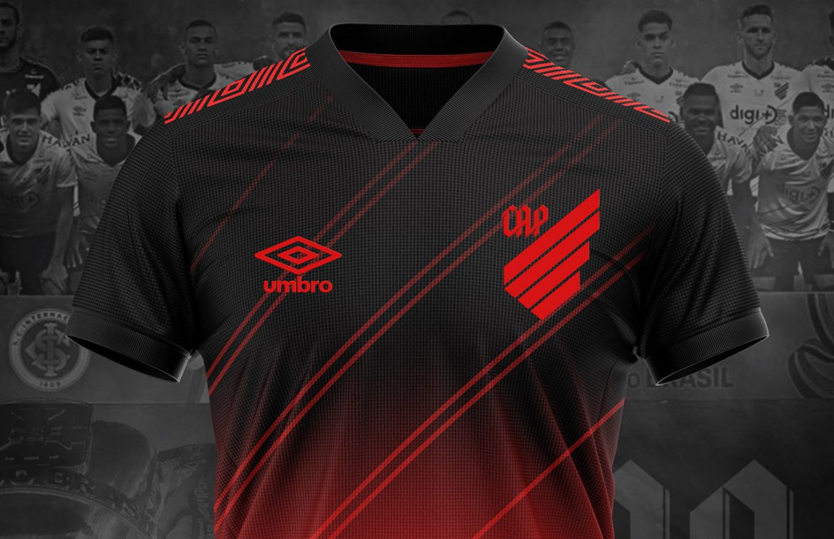 Camisas do Athletico-PR 2020-2021 Umbro (Vitor Parise)