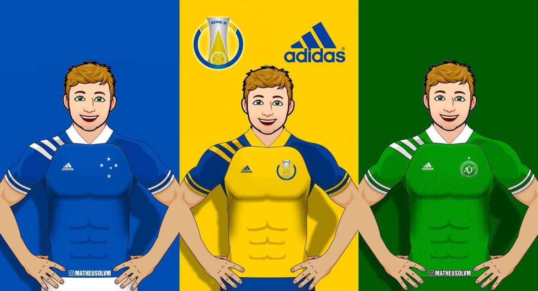 Camisas do BR Série B 2020 Adidas MLS (Matheus Oliveira)