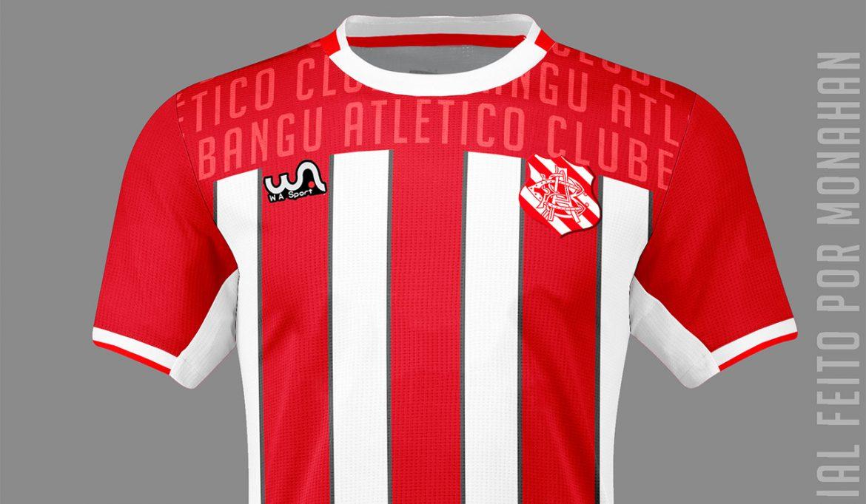 Camisas do Bangu AC 2020-2021 WA Sport (Evandson Monahan)