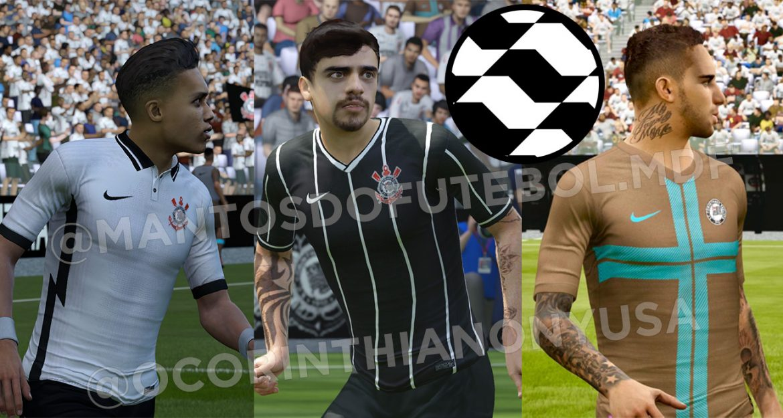 Camisas do Corinthians 2020-2021 Nike