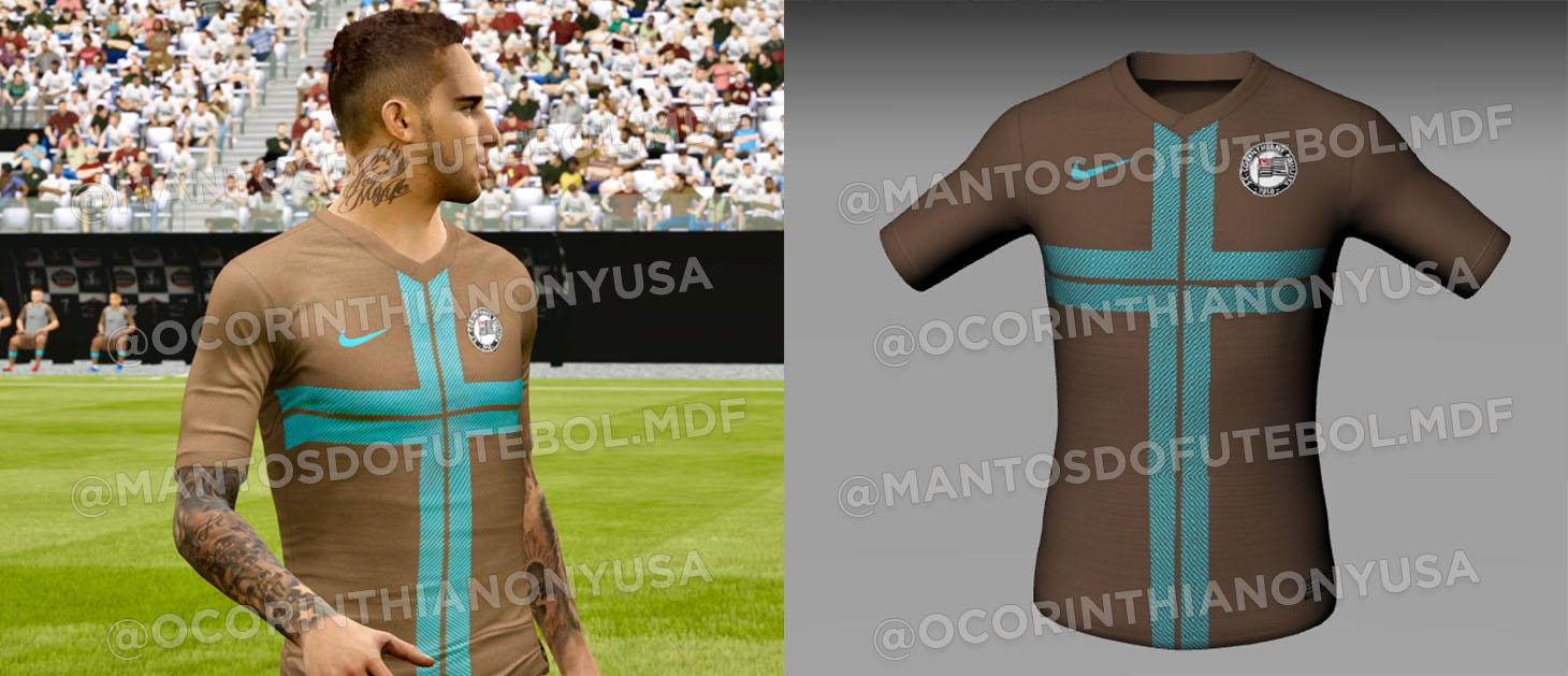 Camisas do Corinthians 2020-2021 Terceira