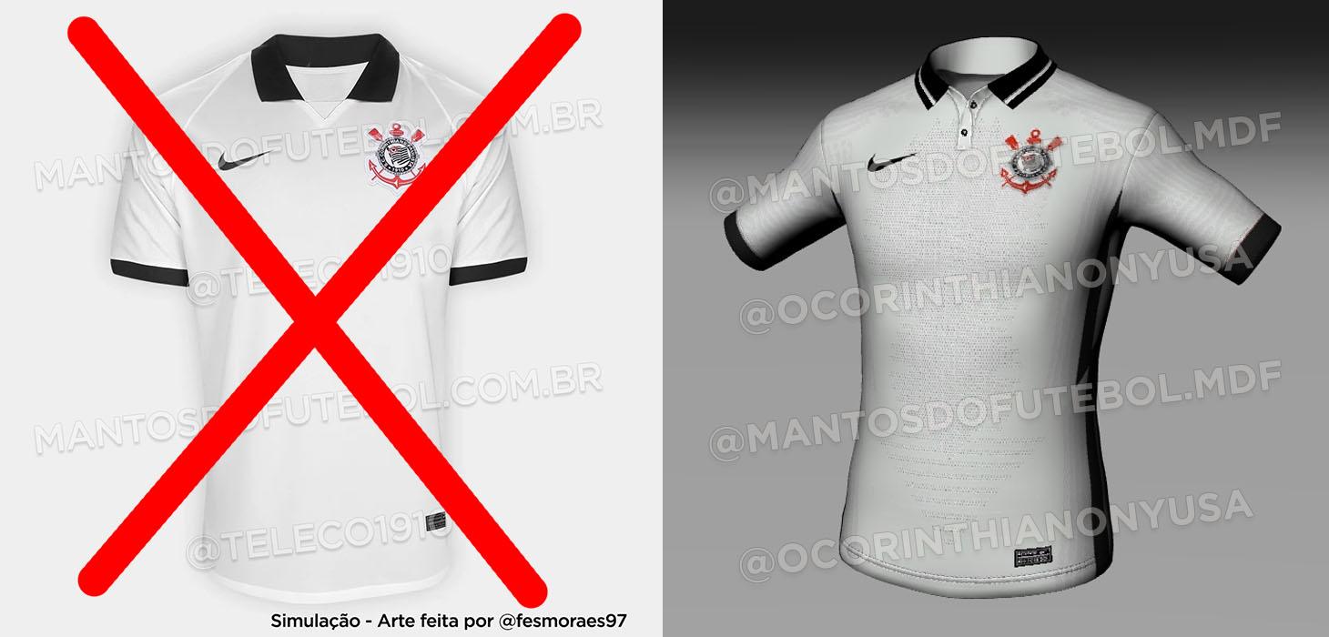 Camisas do Corinthians 2020-2021
