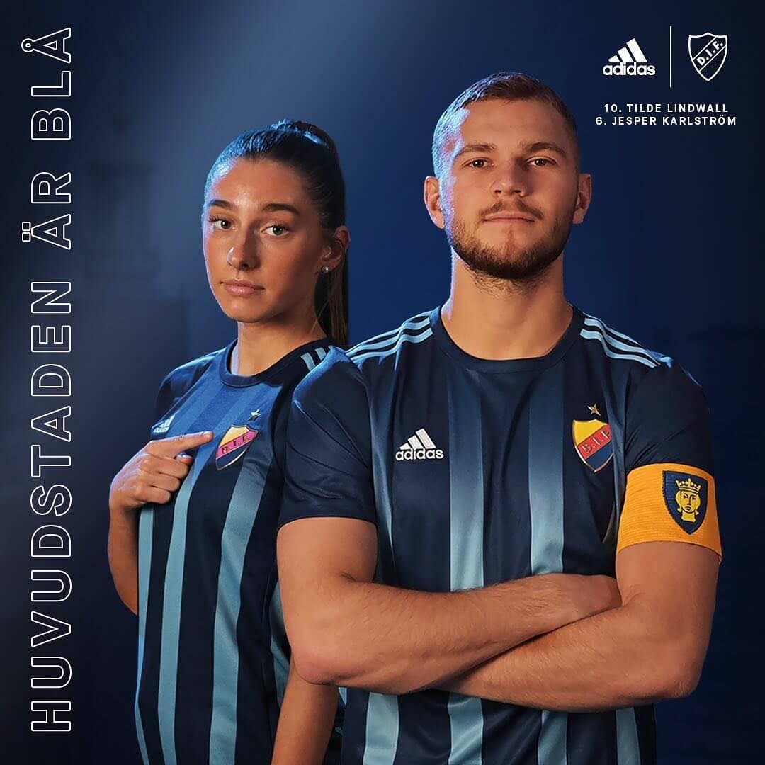 Camisas do Djurgardens IF 2020-2021 Adidas