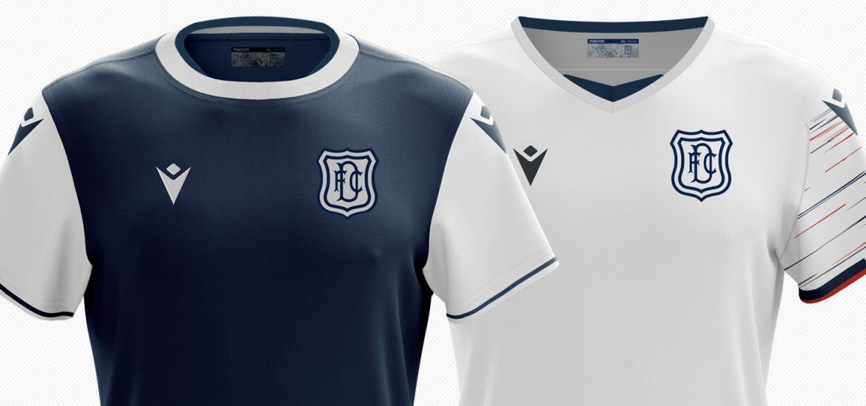 Camisas do Dundee FC 2020-2021 Macron