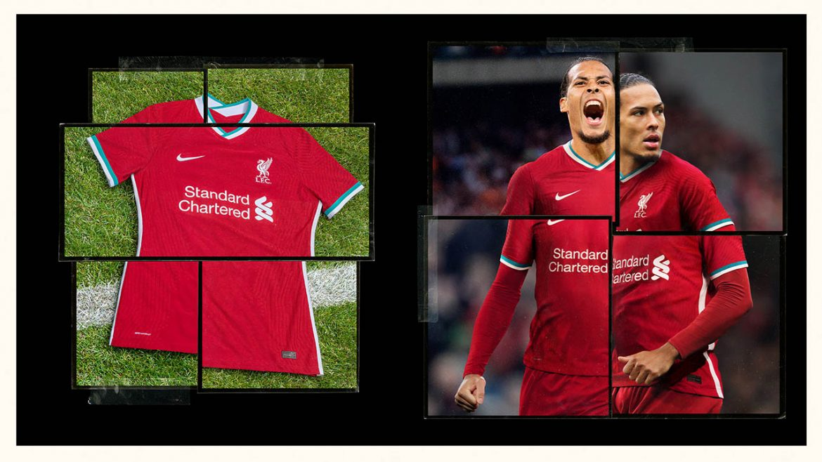 Camisas do Liverpool FC 2020-2021 Nike a