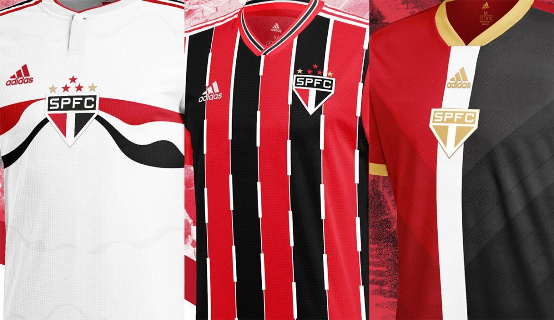 Camisas do São Paulo 2020-2021 Adidas (Deryty Santos)