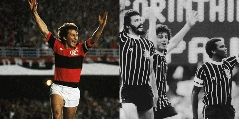 Corinthians e Flamengo na lista das camisas mais míticas do futebol