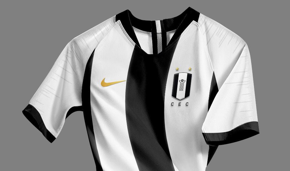 Novo escudo e camisas Nike do Ceilândia (Artur Victor)