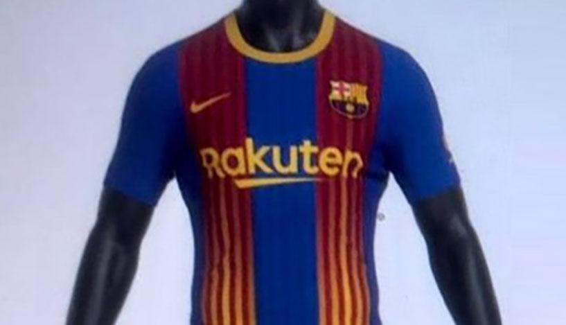Quarta camisa do Barcelona 2020-2021 Nike fb