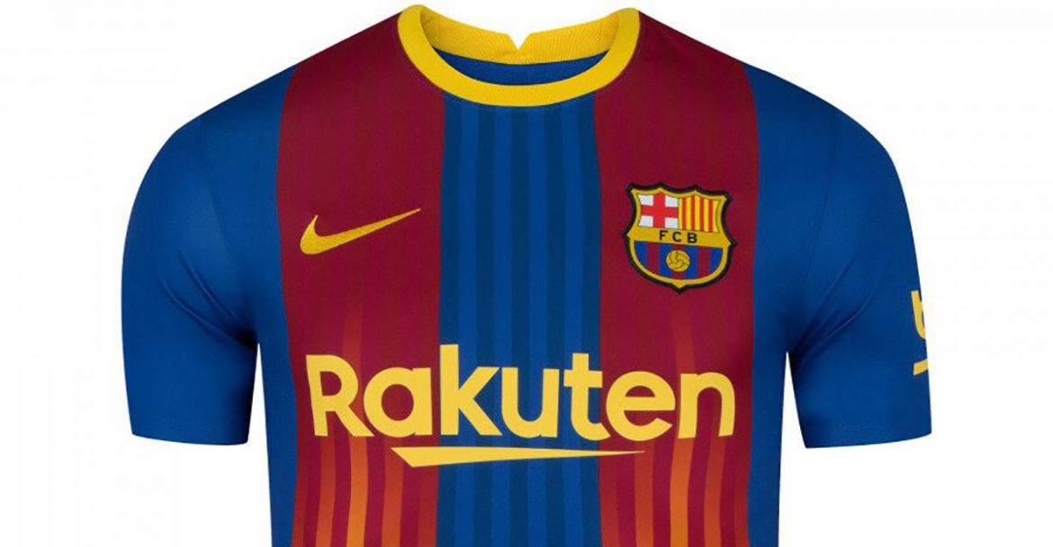 Quarta camisa do Barcelona 2021 Nike a