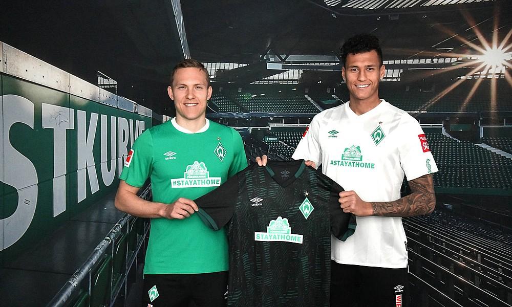 #StayatHome Werder Bremen lança camisa para quarentena