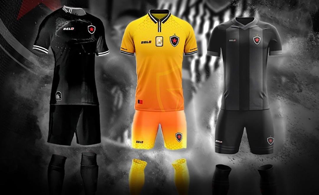 Terceira camisa do Botafogo-PB 2020 Belo1931 a