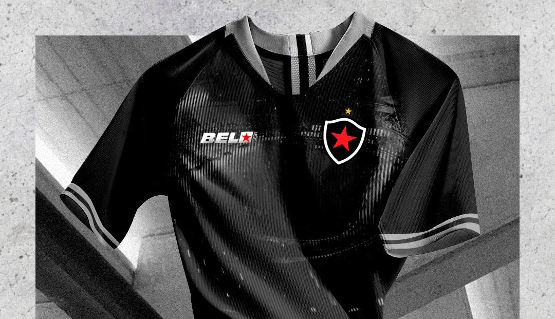 Terceira camisa do Botafogo-PB 2020 Belo1931