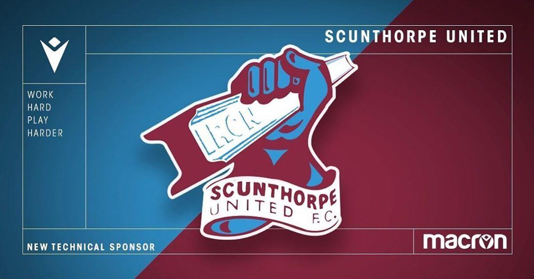 Scunthorpe United vestirá Macron na temporada 2020-2021