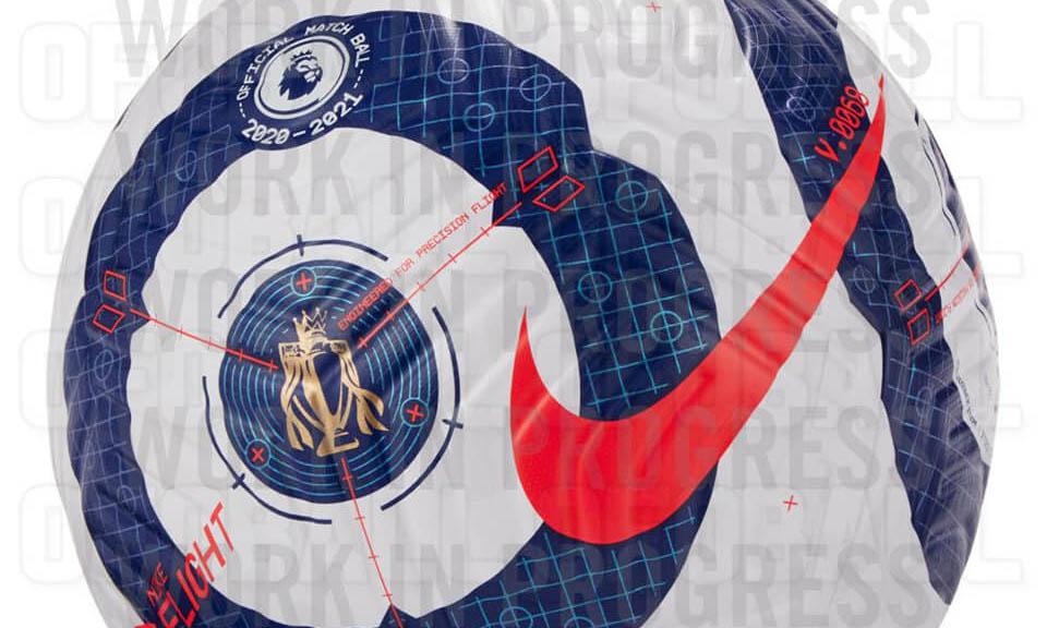 Bola da Premier League 2020-2021 Nike Aerowsculpt a