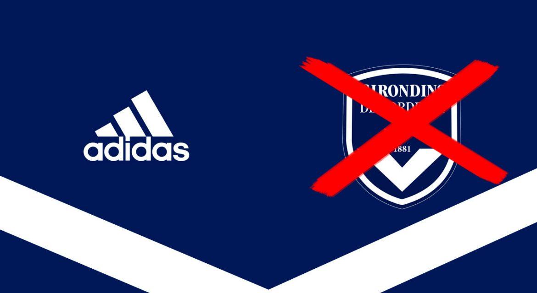 Bordeaux Adidas Novo escudo