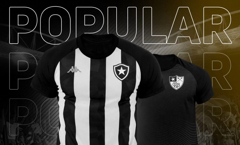 Botafogo e Kappa iniciam venda de camisas populares por menos de R$ 100 ab