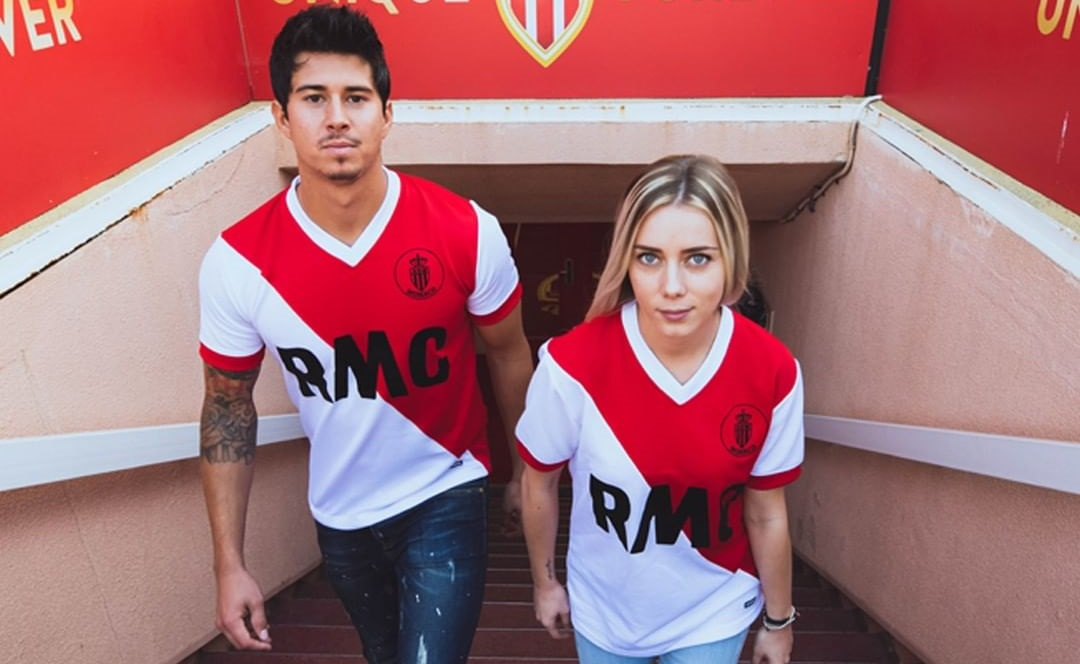 COPA Football lança camisa retrô para o AS Monaco