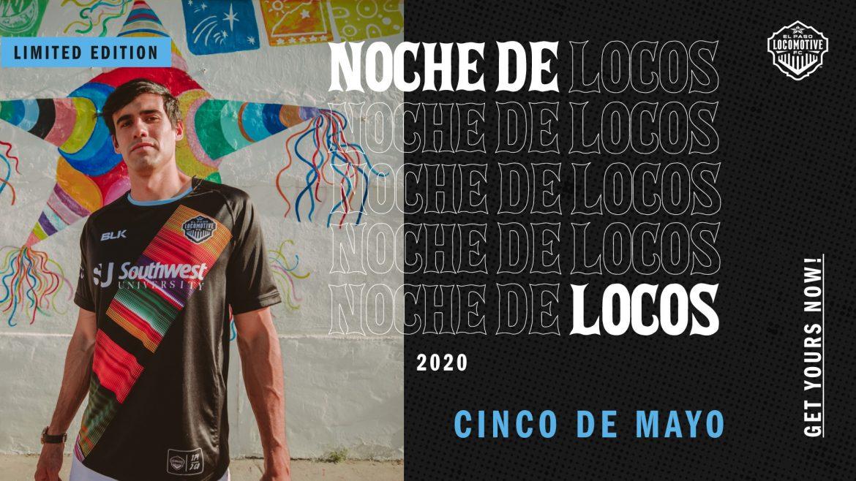 Camisa Noche de locos do El Paso Locomotive 2020 BLK