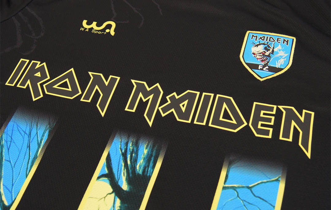Camisa W A Sport Iron Maiden - Fear Of The Dark abre