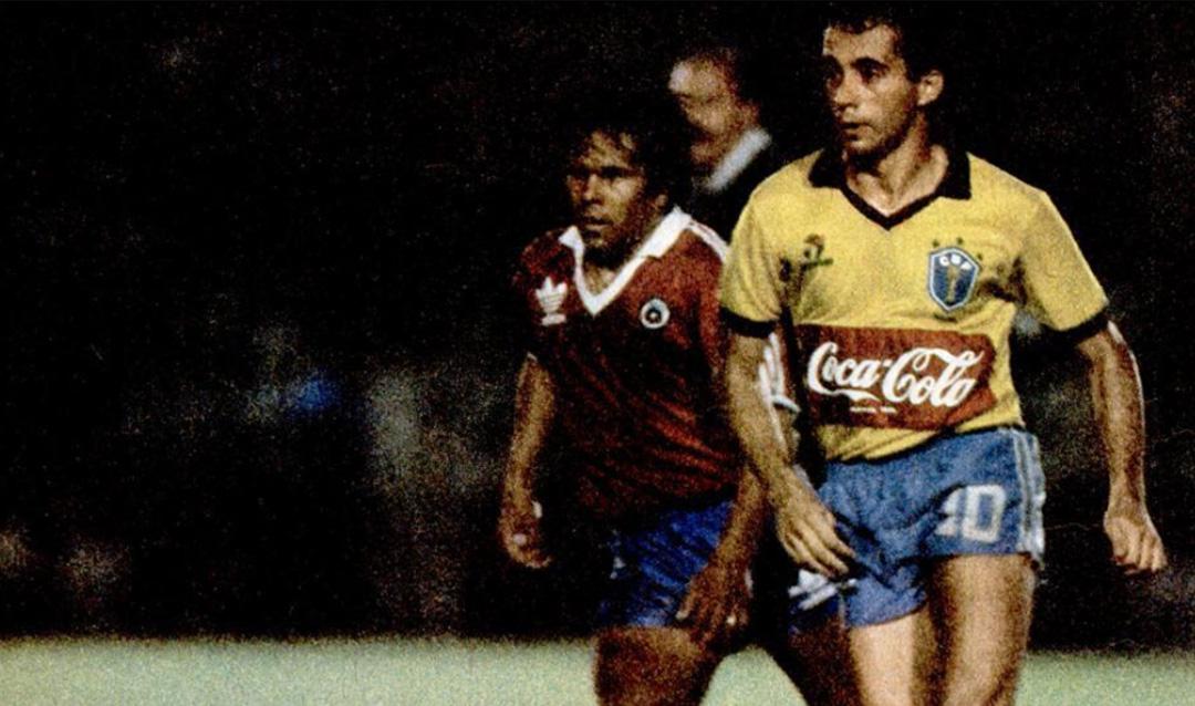Camisa do Brasil Coca-Cola 1987 a