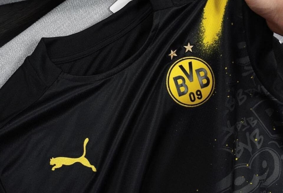 Camisa reserva do Borussia Dortmund 2020-2021 PUMA