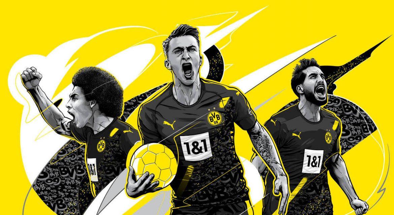 Camisa reserva do Borussia Dortmund 2020-2021 PUMA a