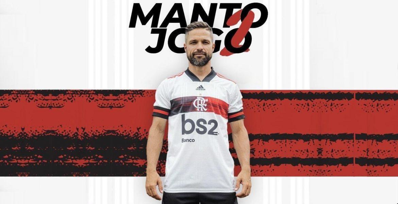 Camisa reserva do Flamengo 2020-2021 Adidas a
