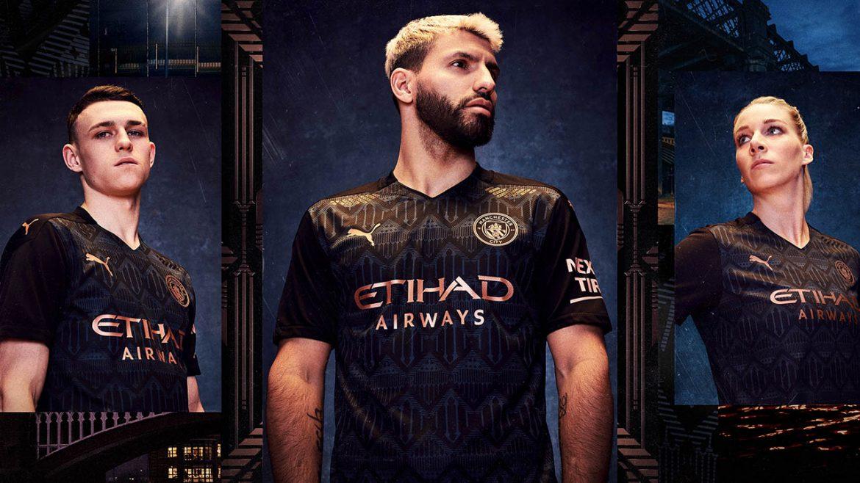 Camisa reserva do Manchester City 2020-2021 PUMA 3