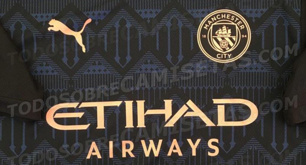Camisa reserva do Manchester City 2020-2021 PUMA