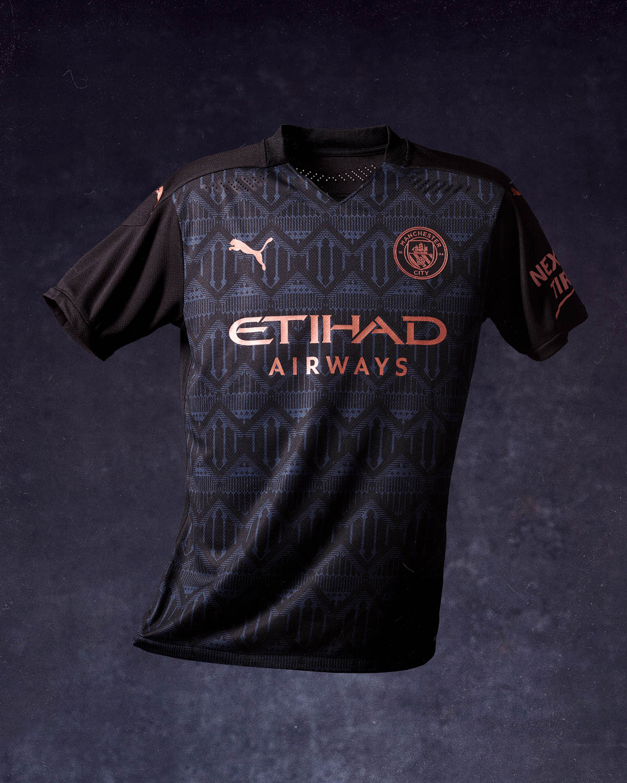 Camisa Reserva Do Manchester City 2020 2021 Puma Mdf