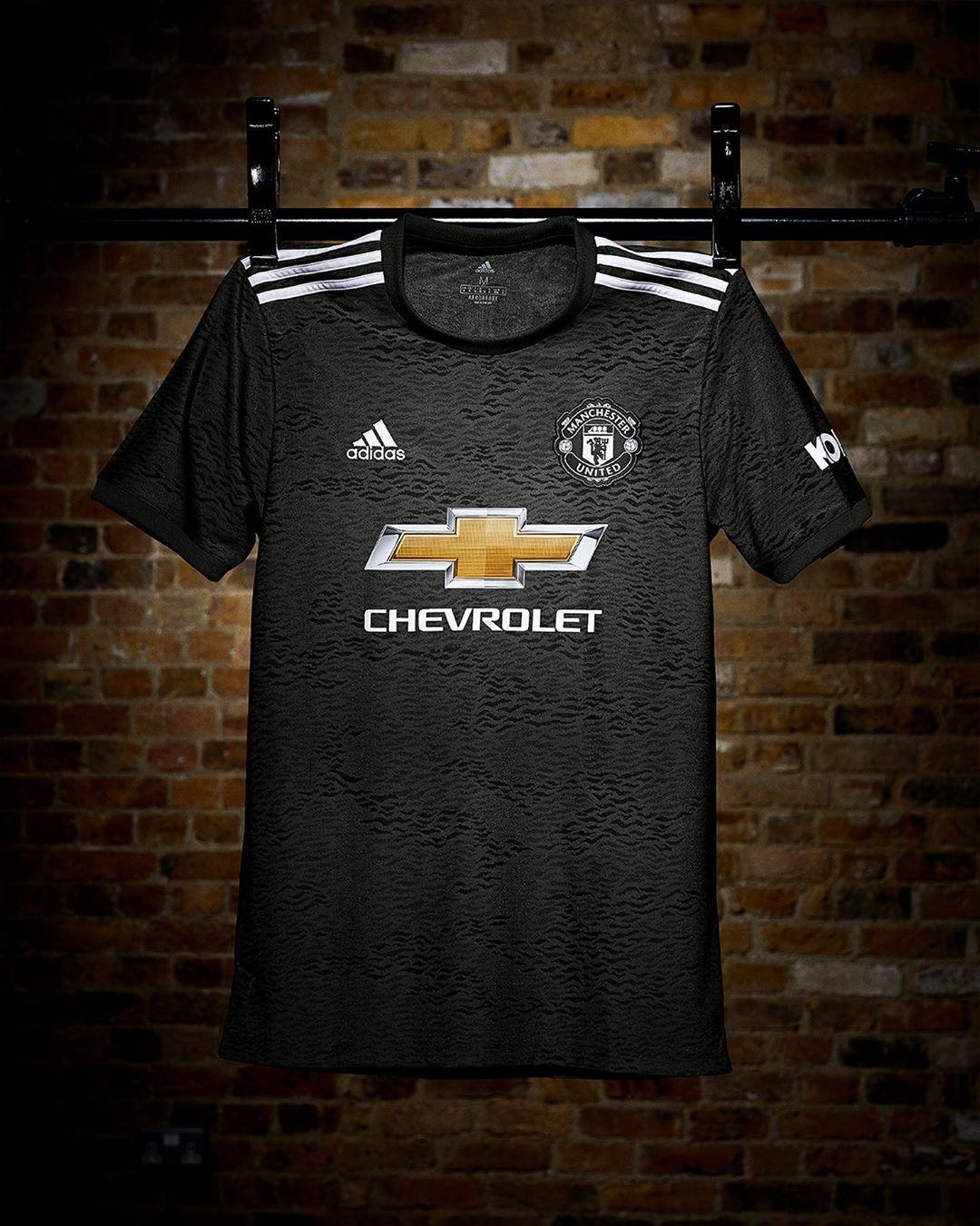 Camisa reserva do Manchester United 2020-2021 Adidas
