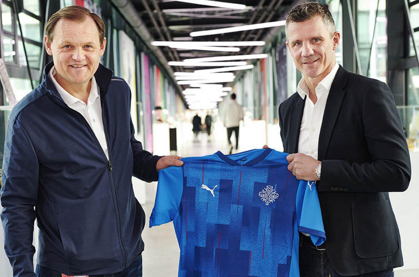 Camisas da Islândia 2020-2021 PUMA 1