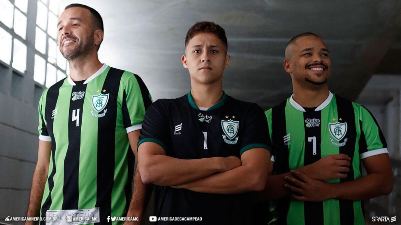 Camisas do América-MG Futsal 2020 Sparta