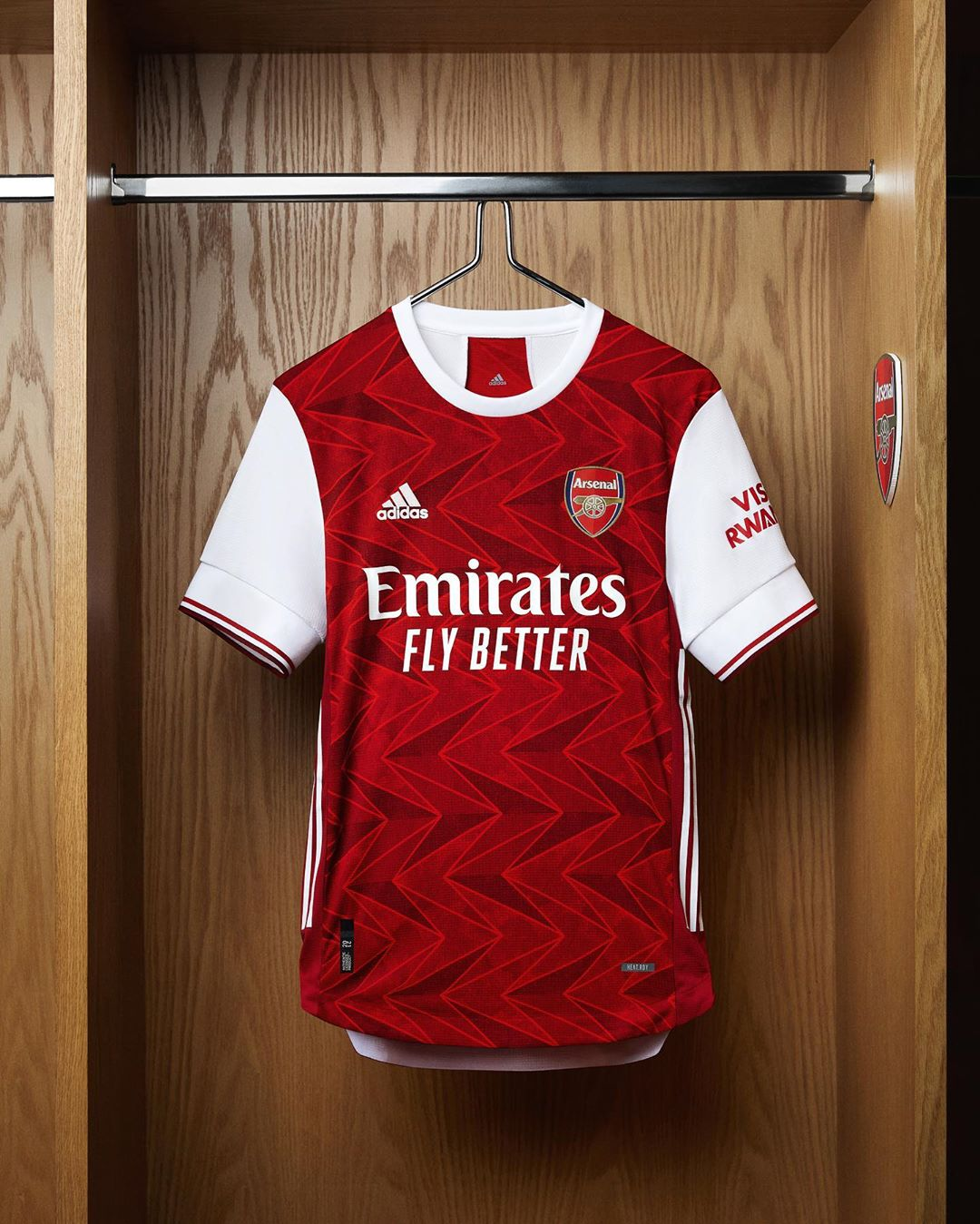Camisas do Arsenal 2020-2021 Adidas