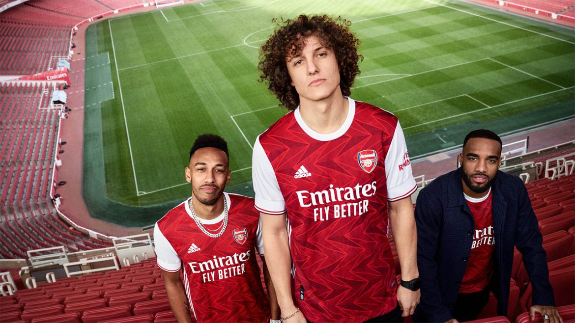 Camisas do Arsenal 2020-2021 Adidas a