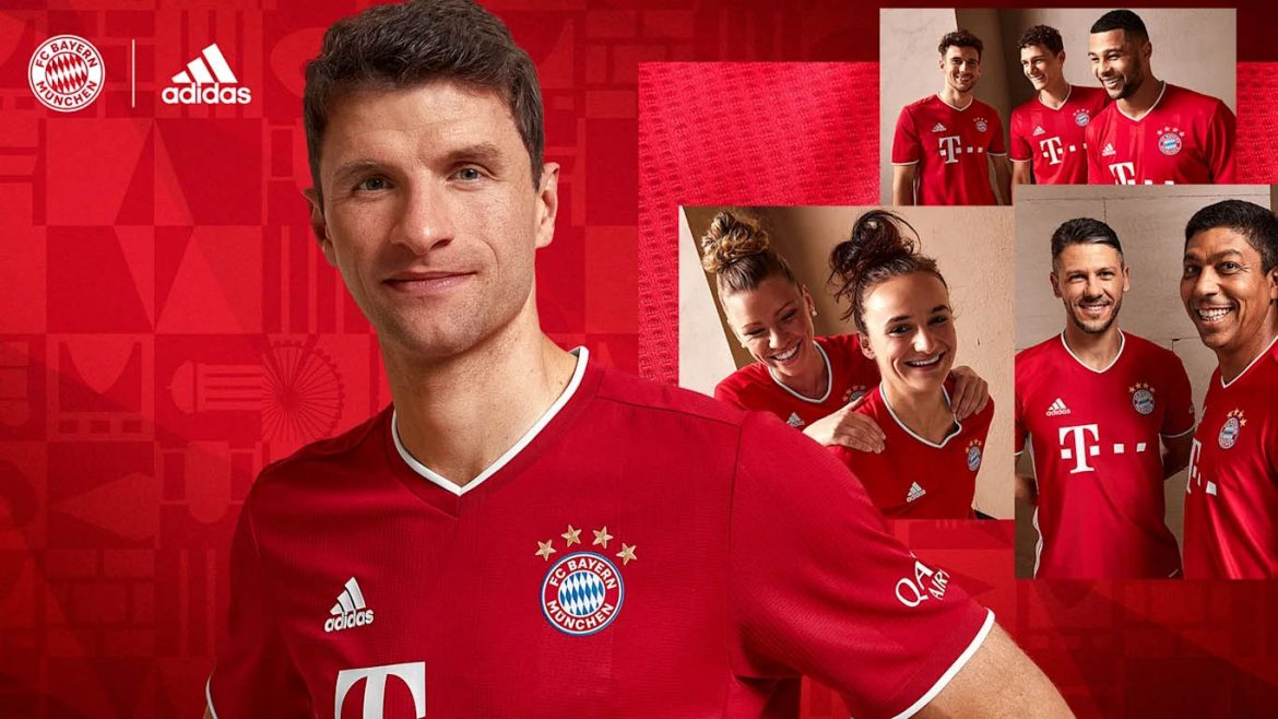 Camisas do Bayern de Munique 2020-2021 Adidas a